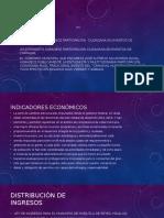 Estructuras socioeconomico de Mexico