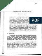La Ideoloagia Del Servicio Publico-Mairal