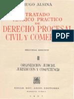 ALSINA Hugo Derecho Procesal Civil y Comercial Tomo II