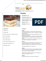 Tiramisu - Petit Chef
