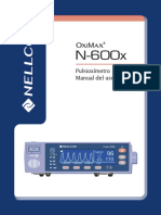 OXIMETRO 600X Manual de Usuario PDF