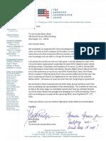 CPAC 2016 Invitation for Senator Marco Rubio