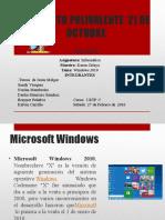 Presentacion de Window 2010