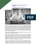 Miguel Illescas - Magnus Carlsen Es Un Poco Friki; Si No Lo Fuera, Seguramente No Sería Tan Bueno