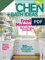 Kitchen and Bath Ideas - March 2014