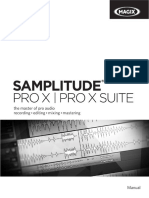 Samplitude Pro X Pro X Suite All Eng