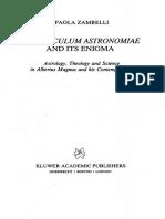 The Speculum Astronomiae and Its Enigma