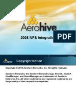 Aerohive Win2008 NPS Integration 1