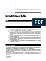 Lab2 Simulation of LAN Fall 91