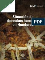 Situación Derechos Humanos Honduras 2015