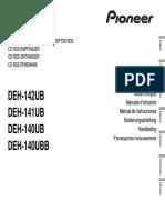 Pioneer DEH 142UB
