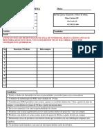 Formul-rio RMA Batnote