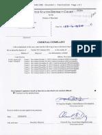 Deonte Carraway - Criminal Complaint