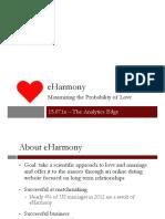 eharmony marketing strategy