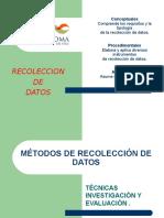 CLASE 11 Procedimientos de Recolección de Datos. (2)