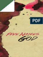 Five Names of God eBook Print