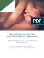 CECH - Derecho Humano a La Vida