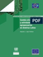 Cambio Climático y Actividades Agropecuarias