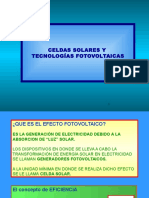 Celdas Fotovoltaica