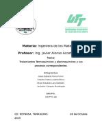 Tratamientos Termoquimicos y Electro Quimicos.