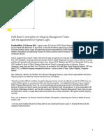 Dvb Press Release 230216
