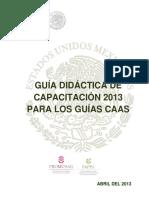 Guía Didáctica de Capacitación 2013 Para Los Guías CAAS