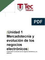 Mercadotecnia y Evolución de Los Negocios Electrónicos]