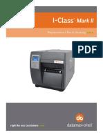 DATAMAXX I-Class Mark II Parts Catalog_92-2582-01_C