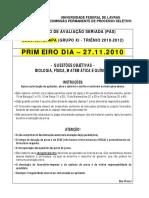 PAS UFLA 2010
