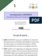Introduzione a SEXTANTE (Trieste 2010)