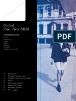 Hult MBA Brochure 2015-16