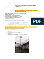 PJU Solar Cell | Jual Lampu taman Tenaga Surya / Solar Power Harga Murah, 0822-4558-2777 (Telkomsel)
