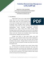 Proposal Study Akademik 2016 Rabithah