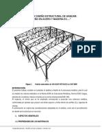 Memoria de Calculo - Diseño Tijeral