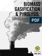 Biomass Gasification and Pyrolysis Formatted Full Report