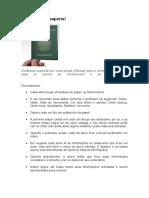 Dinâmica passaporte