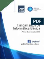 Fundamentos de Informática Básica PRIMER PARTE (2Q 2015)
