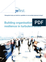 Building Organisational Resilience in Turbulent Times - Whitepaper