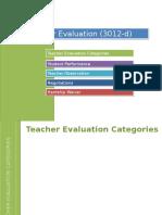 teacher and principal evals