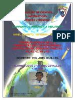 Preguntas de Los Resumenes Del Segundo Parcial (Todos Lo Capítulos 41,42,43,44,45) Zevallos Cobeña José Gregorio IV de Ingeniería Mecánica