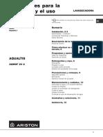 Operacion e instalacion AQM9F29U