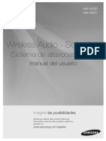 Wireless Audio - Soundbar  (Sistema de altavoces activo)