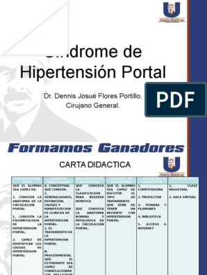 Tipos de derivaciones para el tratamiento de la hipertensión portal