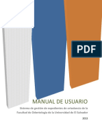 Manual de Usuario Ortodoncia
