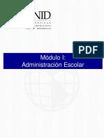 Modulo i Sesion 1 Administracion Escolar
