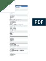 KPI Intra Organizacional Hoja de Resultados RCV
