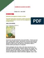 Alimentos Termogênicos Aliados Na Dieta - Nutrologia - Nutrição - Medicina Biomolecular - Obesidade - Emagrecimento - Saúde
