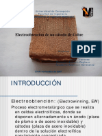 Electroobtencion Experimental de Un Catodo de Cobre