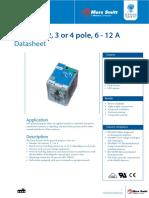 Datasheet M Relays V2.4