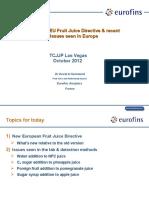 EU Fruit Juice Directive